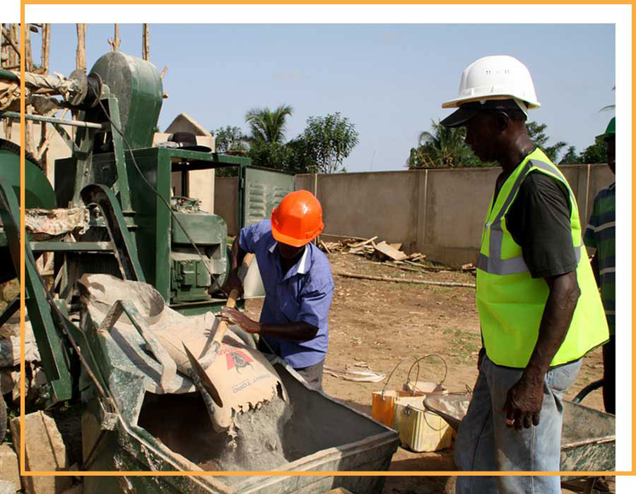 innovation construction bâtiment togo